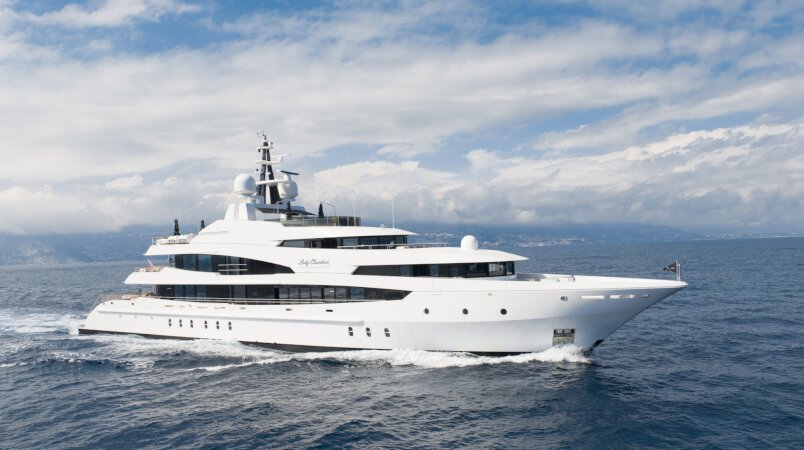 LADY CHRISTINA Available in the Med this Summer