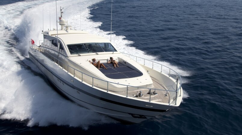 ROMACHRIS II New to the Charter Fleet