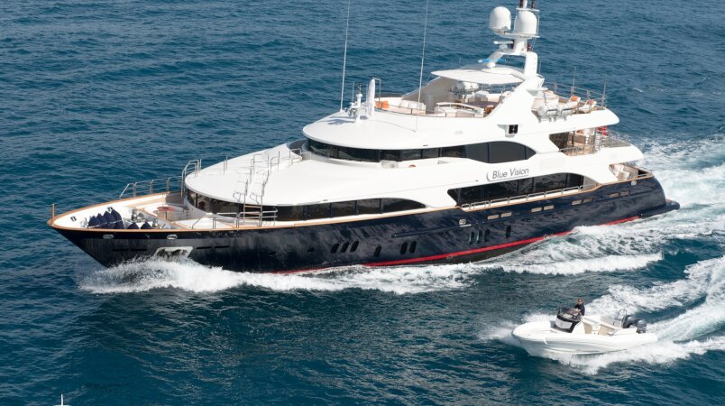 BLUE VISION Available to Charter in the Balearics