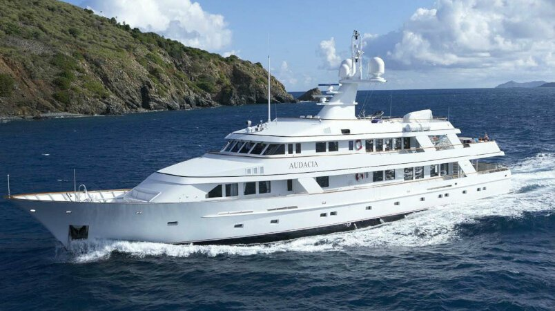 AUDACIA Available for Winter Charter in the Carribean