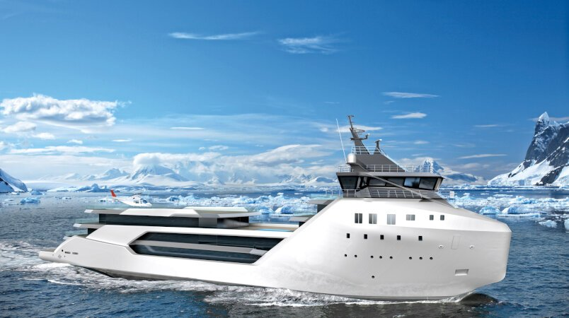 The Ultimate Explorer Superyacht: VARD 1-08 KILKEA
