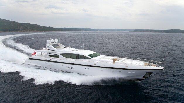 sold yacht Rush