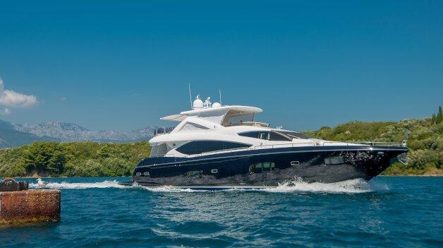sold yacht Dijana