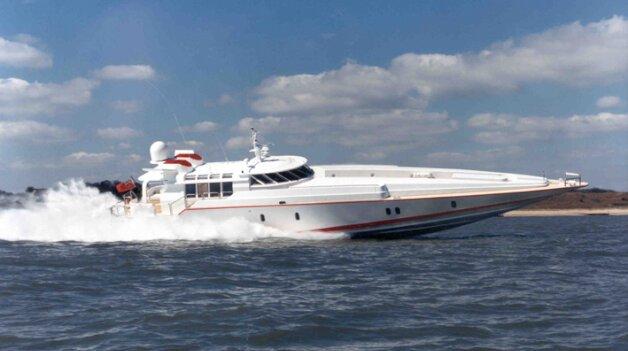 sold yacht G Whiz