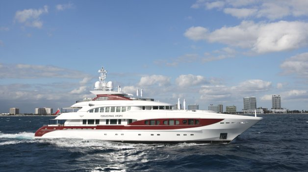 sold yacht Celestial Hope