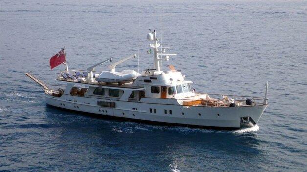 sold yacht Shyraga