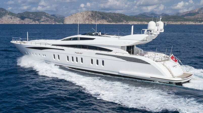 Lisa IV Luxury Super Yacht For Sale