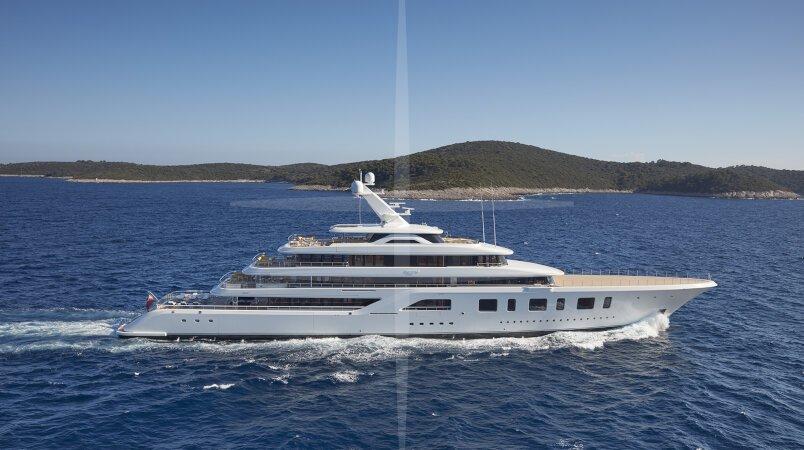 Aquarius yacht for Charter