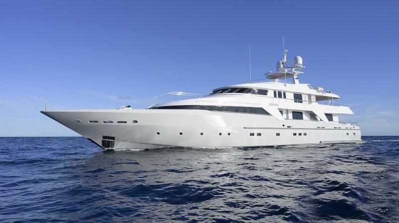 Deep Blue II Luxury Super Yacht For Sale