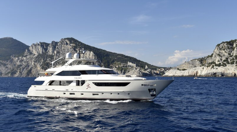 Takara Luxury Super Yacht For Sale