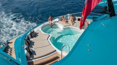 Sunrays Yacht Interior
