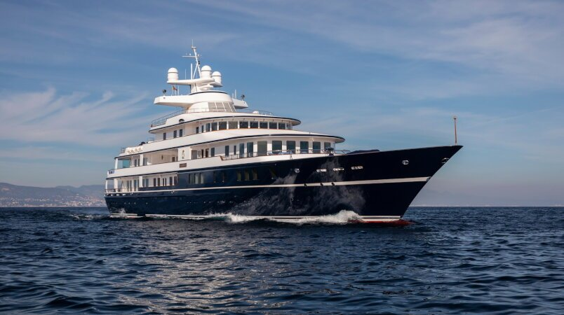 Leander G Luxury Super Yacht For Sale
