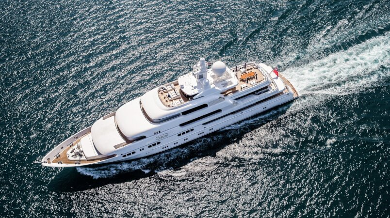 Titania yacht for Charter