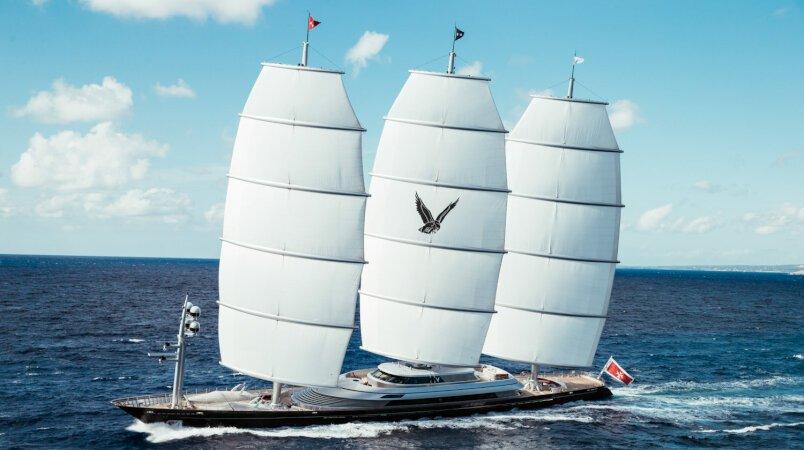 Maltese Falcon yacht for Charter