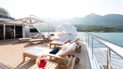 Irimari Yacht Interior