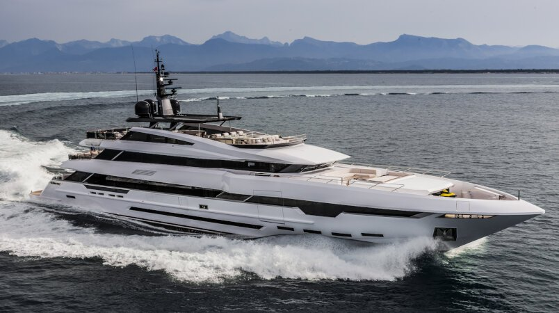 Polaris I Luxury Super Yacht For Sale