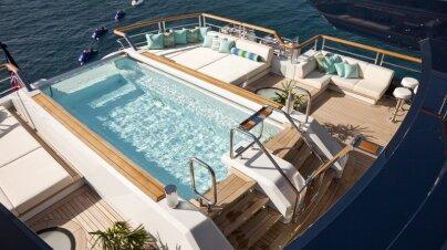 Solandge Yacht Interior