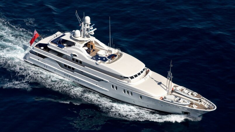 Deja Too Luxury Super Yacht For Sale