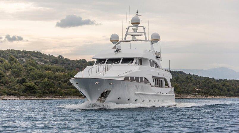 Pida Luxury Super Yacht For Sale