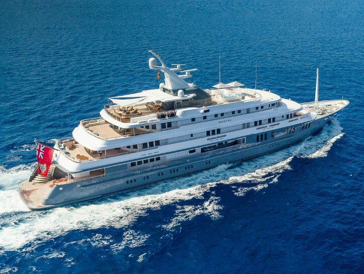 Boadicea yacht for sale
