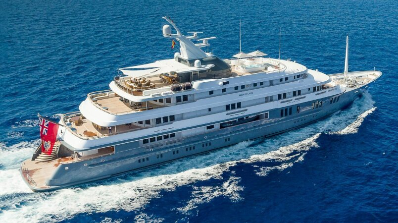 Boadicea Luxury Super Yacht For Sale
