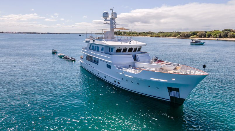 Relentless  Luxury Super Yacht For Sale