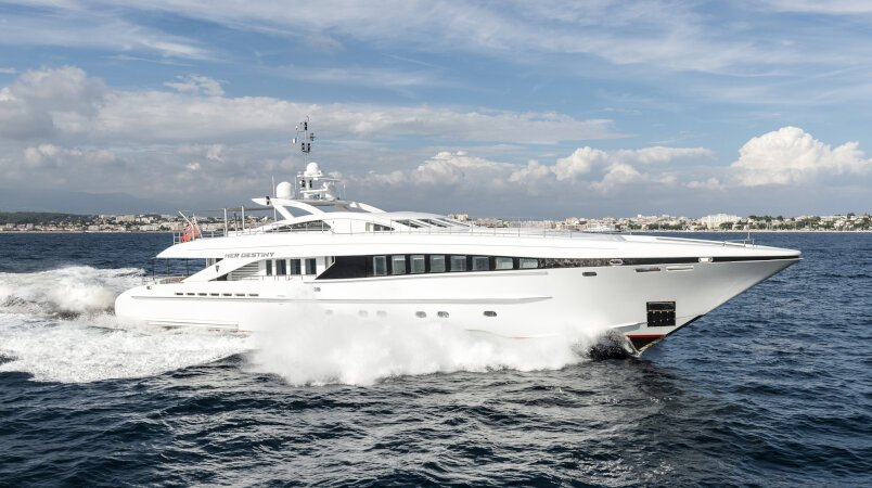 Her Destiny Luxury Super Yacht For Sale