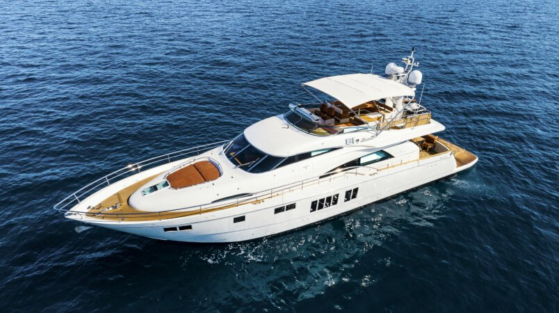 Ocho Uno Luxury Super Yacht For Sale