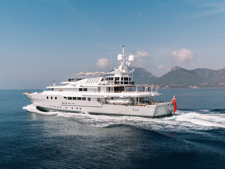 Lady A yacht for sale