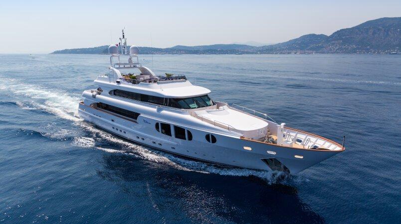 Bina  Luxury Super Yacht For Sale