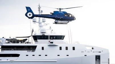Game Changer Yacht Interior