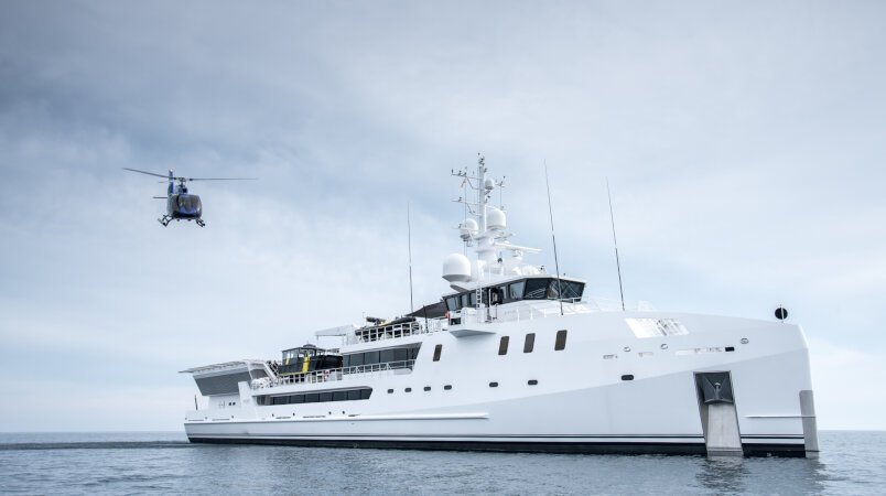 Game Changer Luxury Super Yacht For Sale