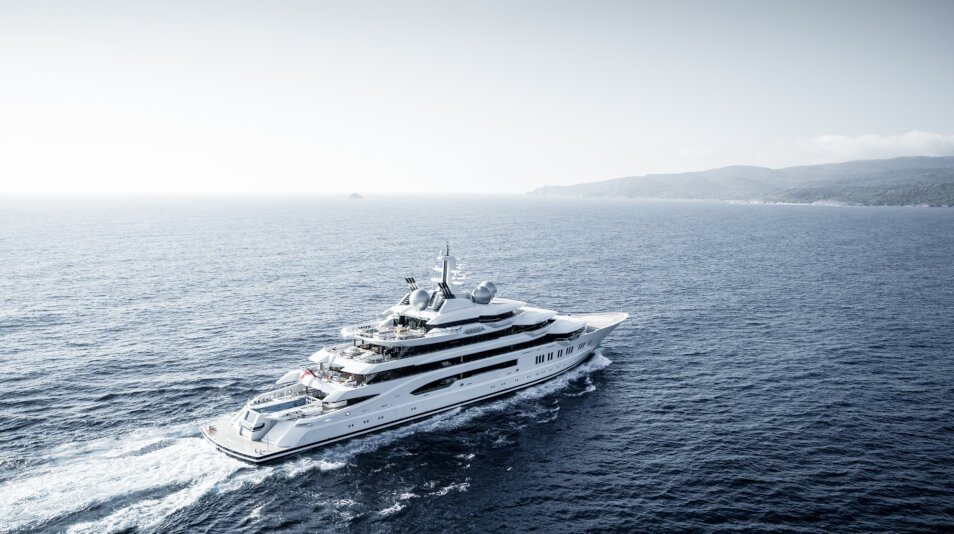 Amadea Yacht for charter