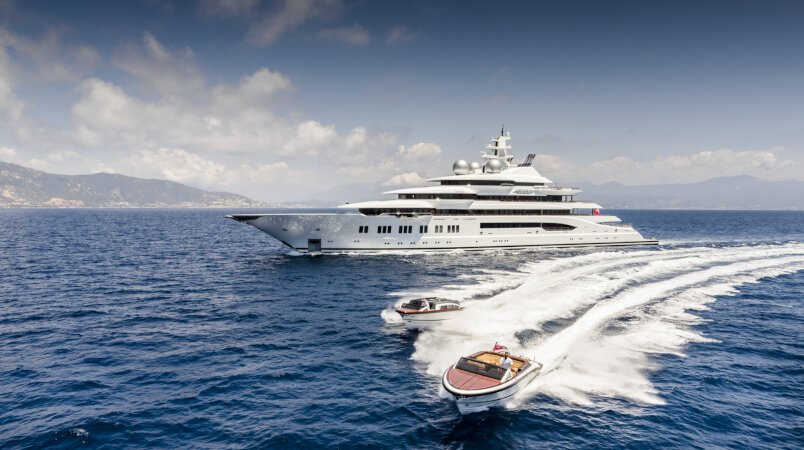 Amadea Luxury Super Yacht For Sale