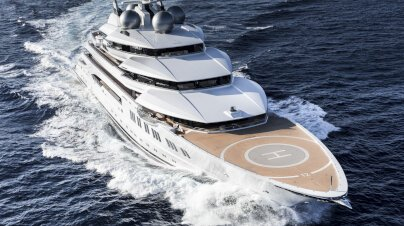 Amadea Yacht Outside Space