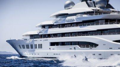 Amadea Yacht Interior