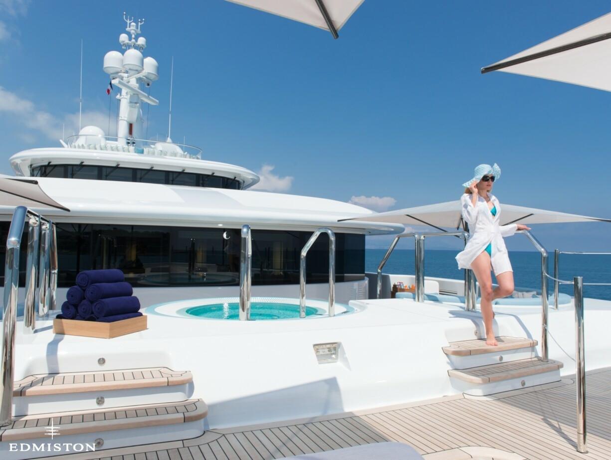 Nirvana yacht charter price oceanco luxury yacht charter - Nirvana 18
