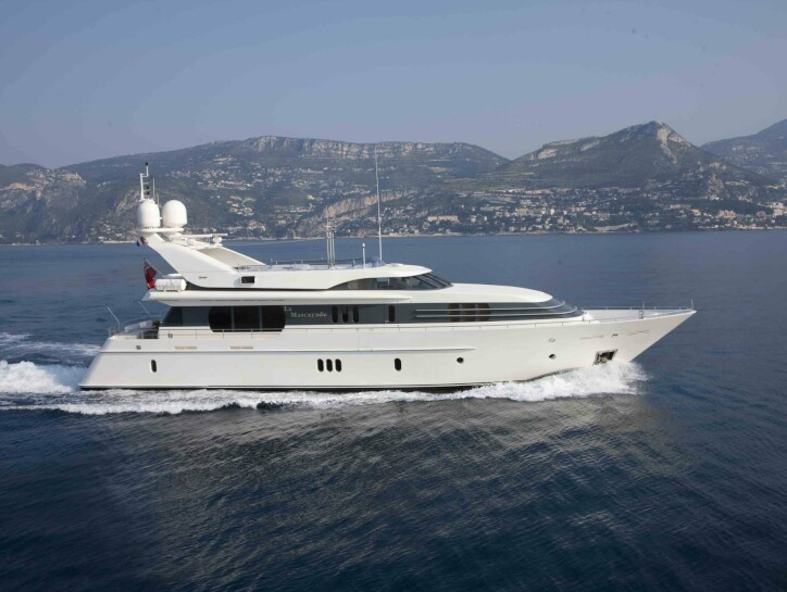 La Mascarade yacht for charter