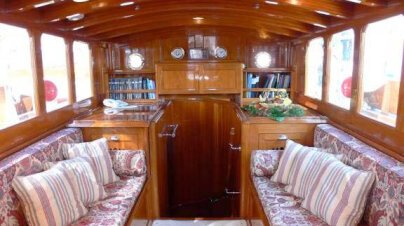 Thendara Yacht Interior