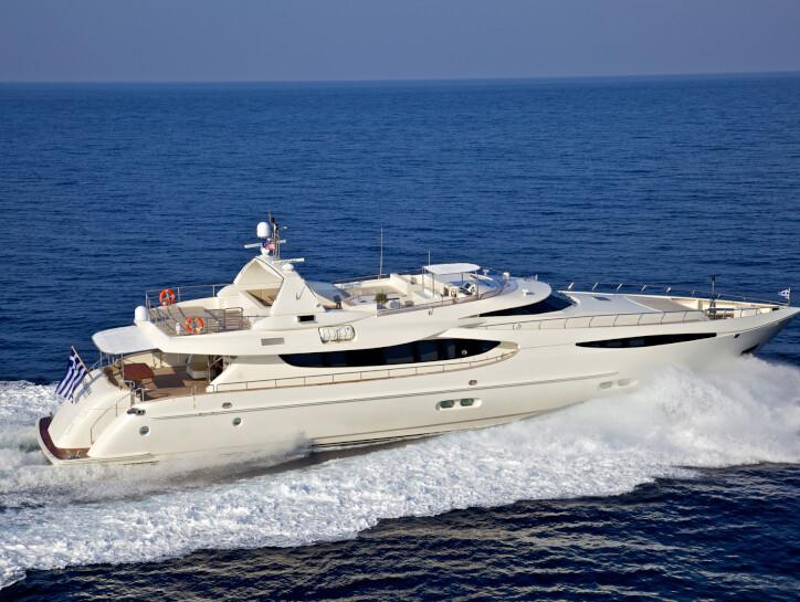 Sanjana yacht for charter