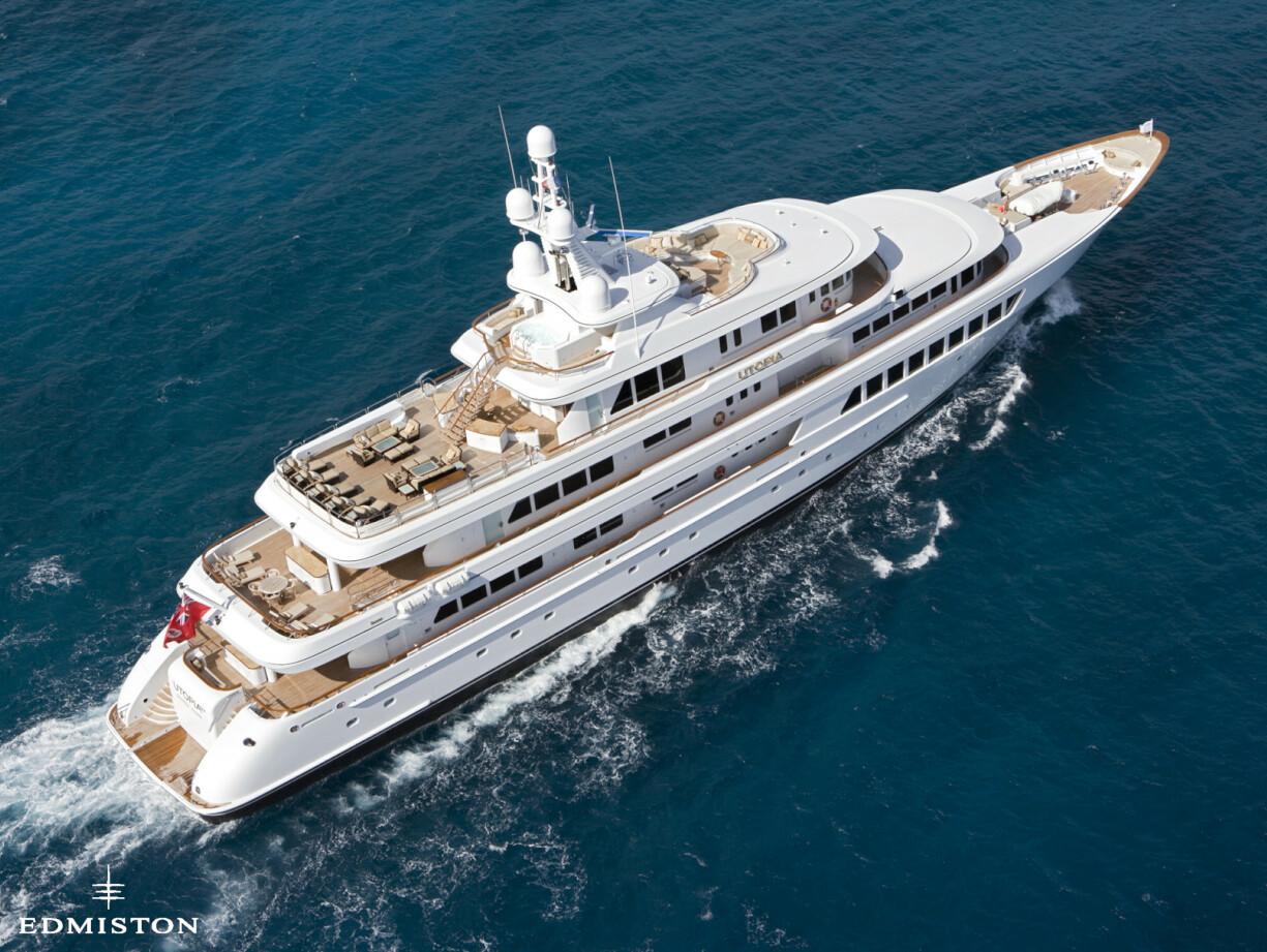 Utopia Yacht Charter   Feadship Luxury Motor Yacht   Edmiston
