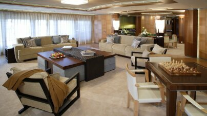 Wheels Yacht Interior
