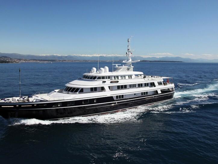 Virginian yacht for charter