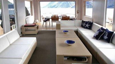 Akula Yacht Interior