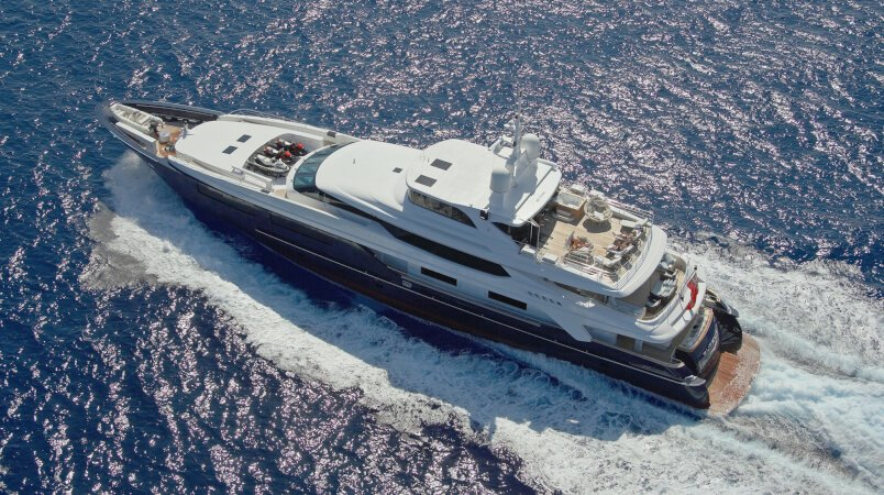 Burkut Luxury Super Yacht For Sale