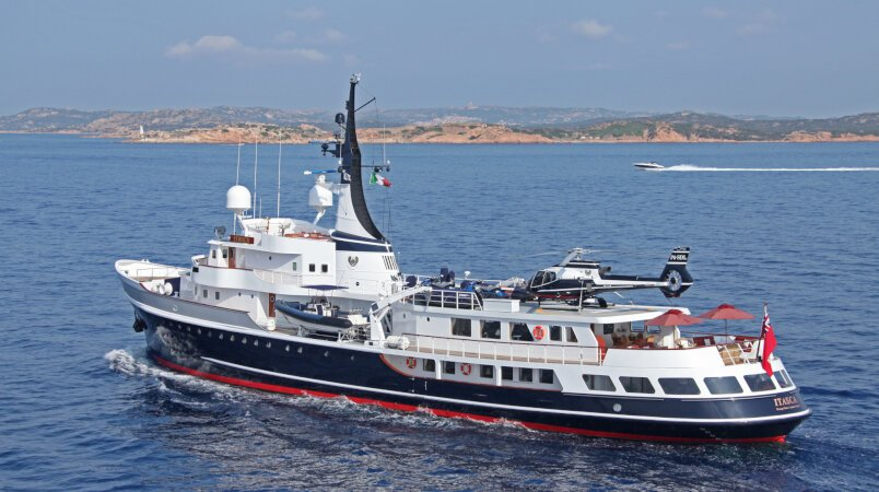 Itasca Luxury Super Yacht For Sale