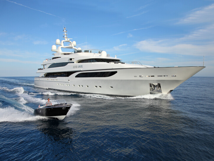 Silver Angel yacht for charter