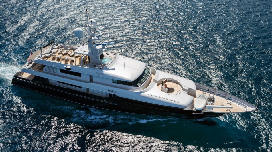 Mariu yacht for Charter