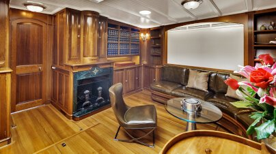 Endeavour Yacht Interior