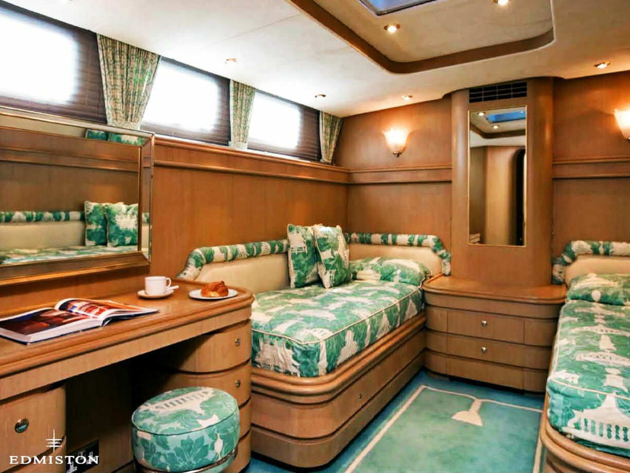 Blue Legend Yacht T Richardson Luxury Motor Yacht Edmiston